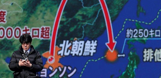 K. Kore: ABD'yi vurabilecek füzeyi başarıyla denedik