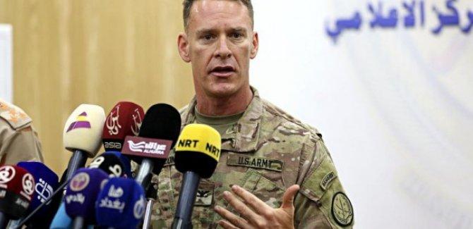 Koalisyon Sözcüsü, Kerkük'teki ABD askerlerine açıklık getirdi