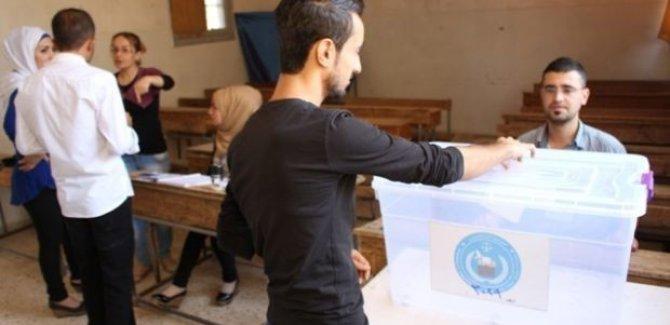 Rojava'da halk sandık başında