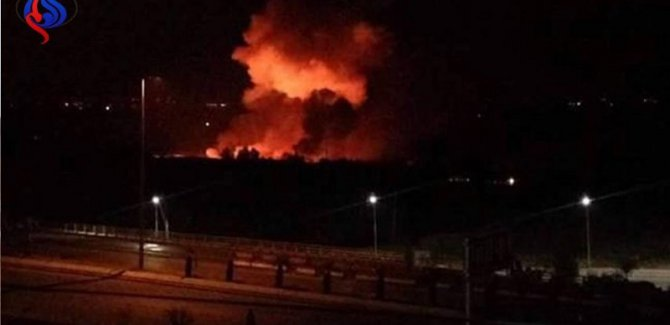Siyonist İsrail'den Suriye'ye füze saldırısı
