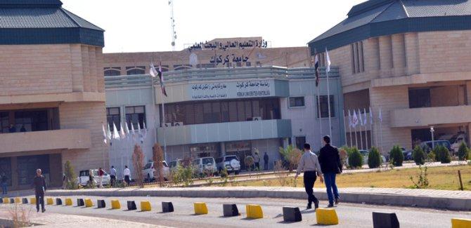 Kürt öğrencilerden Kerkük Üniversitesi'nde boykot