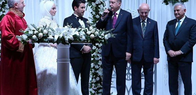 İlk mütfü nikahı, Canikli'nin oğluna kıyıldı