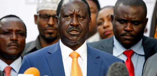 """Kenyalı muhalif lider Odinga """"başkanlık yemini"""" edecek"""