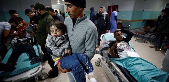 İşgal güçleri, Gazze'ye hava saldırısı düzenledi