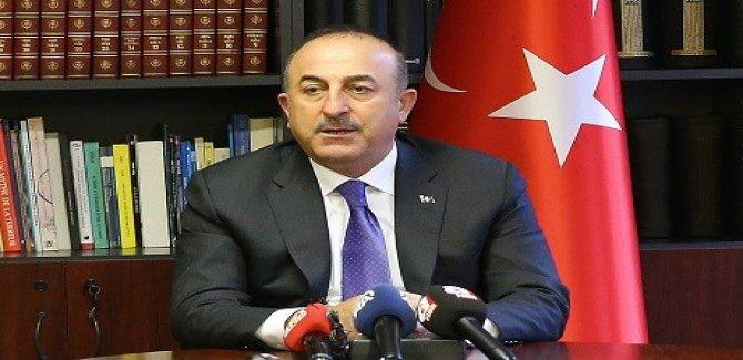 Çavuşoğlu: YPG Kürtlerin tek temsilcisi değil
