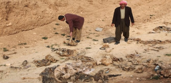 Ninova'da bir toplu mezar daha bulundu