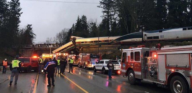 ABD'de tren kazası: Ölü ve yaralılar var