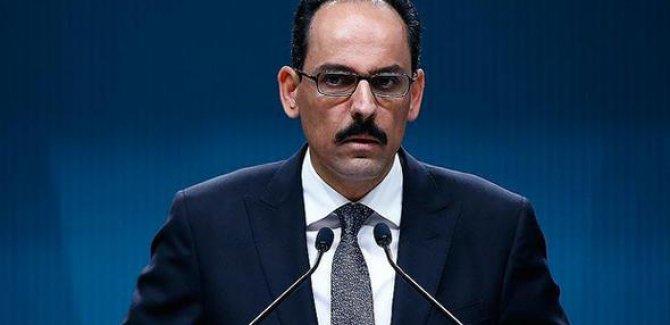 Cumhurbaşkanlığı Sözcüsü İbrahim Kalın: Biz Kudüs'ten asla vazgeçmeyeceğiz, bunu herkes bilsin