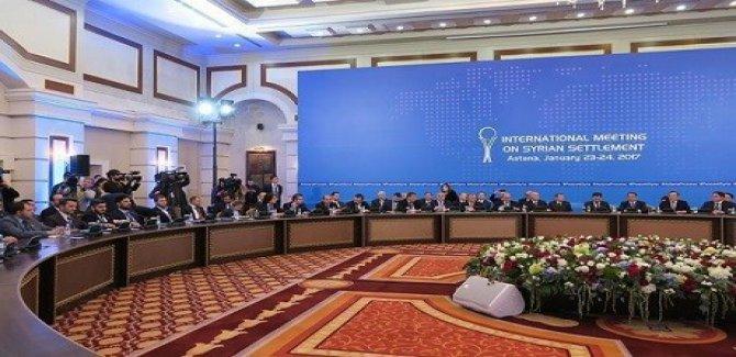 8. Astana görüşmesi bugün başlıyor