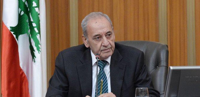 Lübnan Meclis Başkanı: Filistin'in 'gerçek' bir desteğe ihtiyacı var