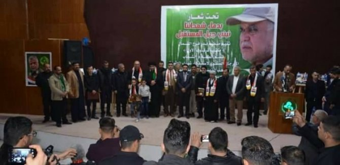Haşdi Şabi, Kerkük'te kamu arazilerini bölüşüyor