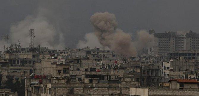 Doğu Guta'da son 2 günde 18 sivil öldü