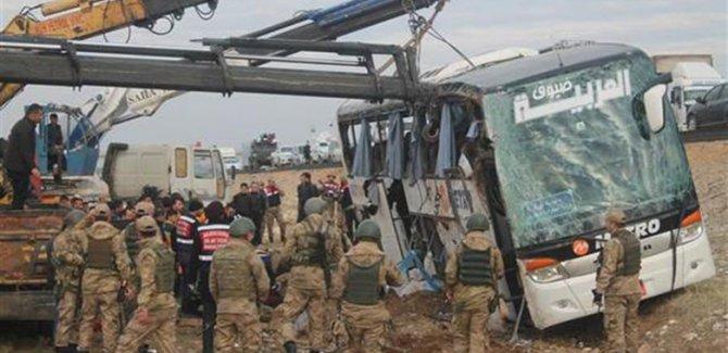 İstanbul'dan Erbil'e giden otobüs devrildi: 9 ölü 28 yaralı