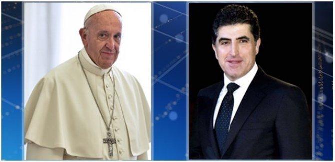 Barzani'den Vatikan'a ziyaret