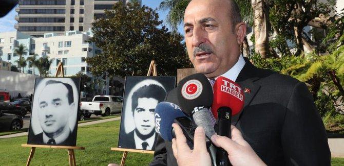 Çavuşoğlu: Türkiye, ABD'den çok daha güvenli bir ülkedir