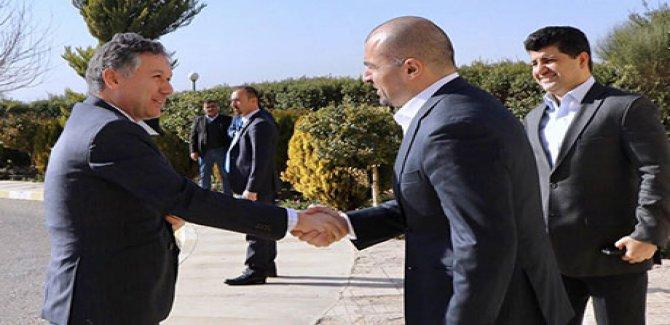 KYB ile Türkiye'nin Erbil Başkonsolosu görüştü