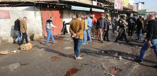 Bağdat'ta çifte intihar saldırısı: 25 ölü, 90 yaralı