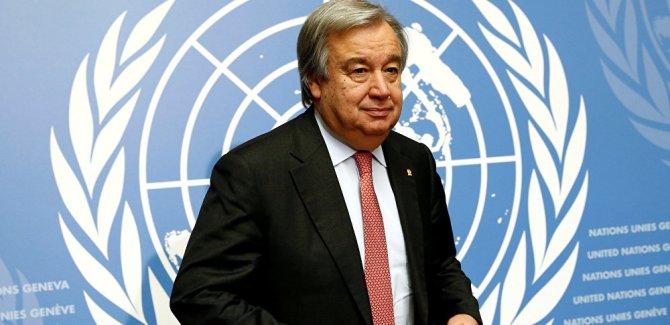 Guterres'den Sınır gücü' açıklaması