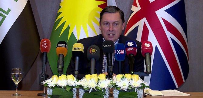 """İngiltere'nin Bağdat Büyükelçisinden Bağdat'a """"demografik yapı"""" uyarısı"""