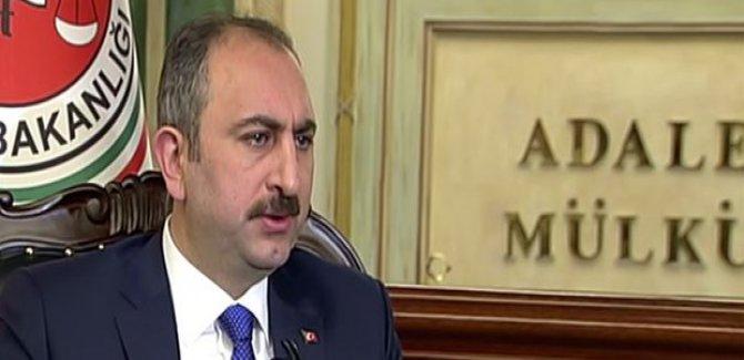 Adalet Bakanı:Türkiye güvenliğini tehdit edecek hiçbir oluşuma sessiz kalamaz