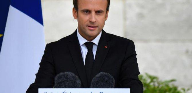 Macron: IŞİD yenilgiye uğramak üzere