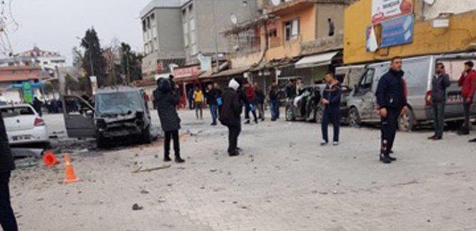 Reyhanlı'ya Afrin'den  roket atıldı 1 ölü 37 yaralı