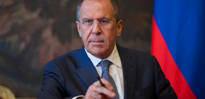 Lavrov: Suriye'nin toprak bütünlüğüne saygı gösterilsin