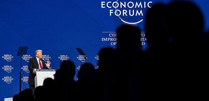 Trump Davos'ta yuhalandı