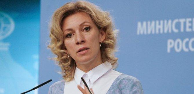 Zaharova: Kürtler Soçi kongresinde olacak