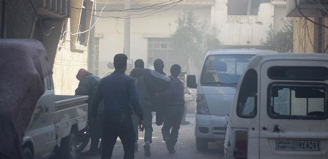 Esad rejimi Doğu Guta'yı klor gazıyla vurdu