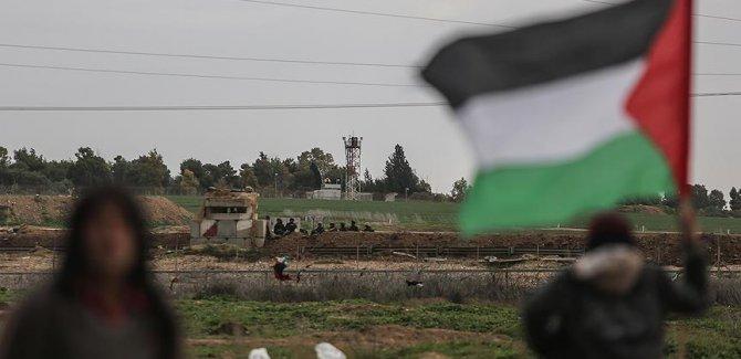 İşgal güçleri Filistinli göstericilere ateş açtı: 20 yaralı