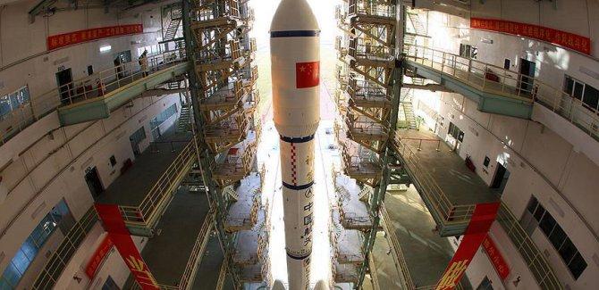 Çin uzaya deprem izleme uydusu gönderdi