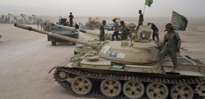 Pentagon doğruladı: Haşdi Şabi, Kerkük'te ABD tanklarını kullandı