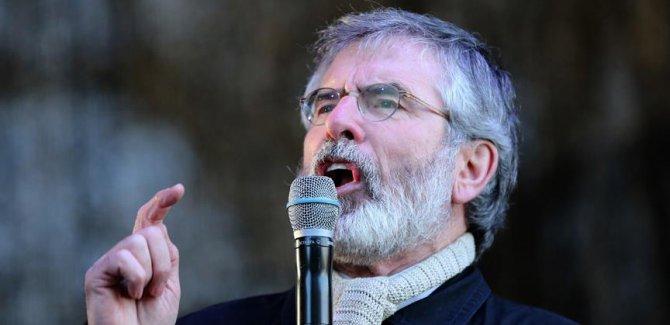 Adams, Sinn Fein liderliğini bıraktı