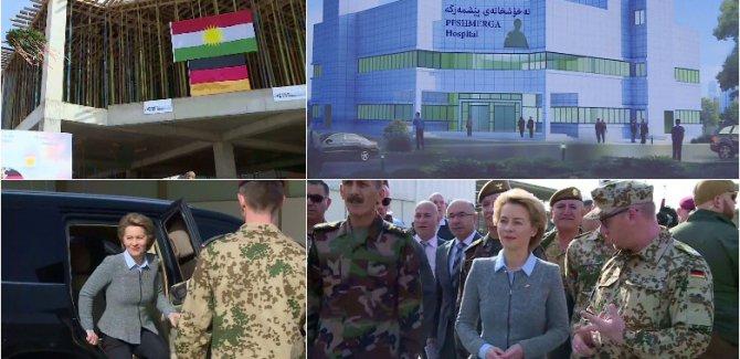 Almanya Savunma Bakanın'dan Erbil'e ziyaret