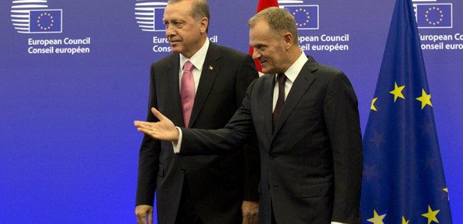 Tusk: Türkiye AB üyesi bir ülkeyi tehdit edemez