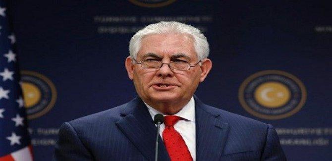 ABD Dışişleri bakanı Rex Tillerson Ankara'da