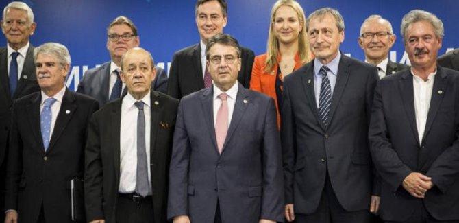 AB dışişleri bakanları Afrin'i görüştü