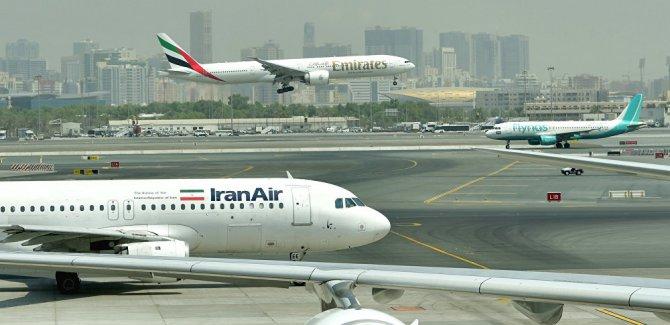 İran'da düşen uçakta kurtulan yok