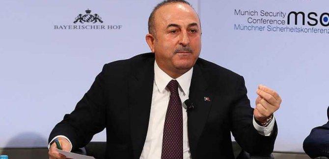 Çavuşoğlu'ndan Arap Birliği'ne Tepki