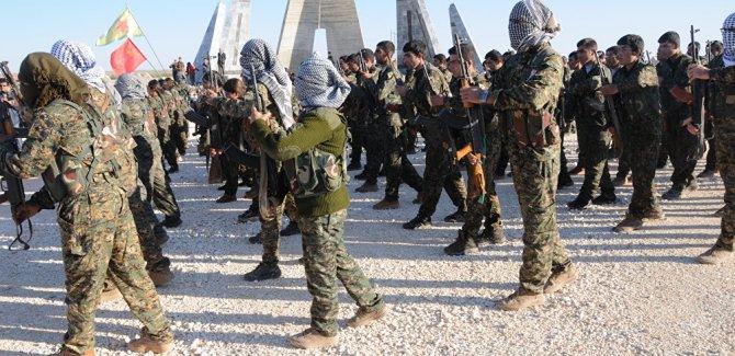 'Suriye ordusu, Afrin için YPG'ye silah veriyor'