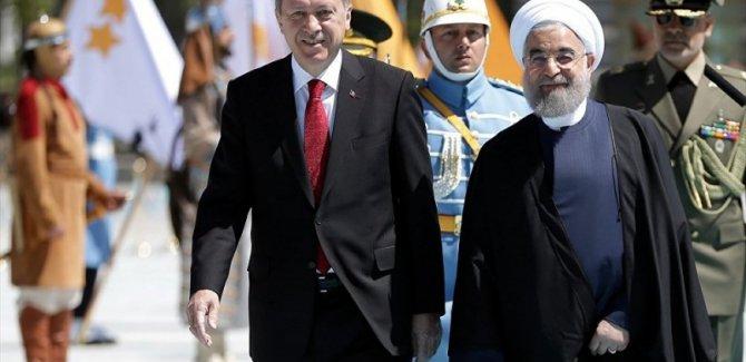 Erdoğan ve Ruhani  görüştü