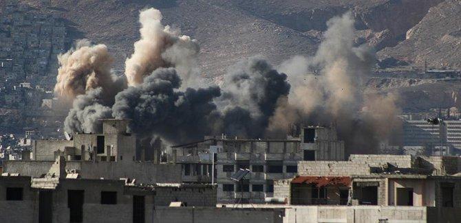 Suriye'de BMGK'nin ateşkes kararına rağmen 107 sivil öldü