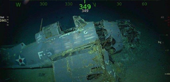 76 yıl önce batırılan ABD gemisinin enkazı bulundu