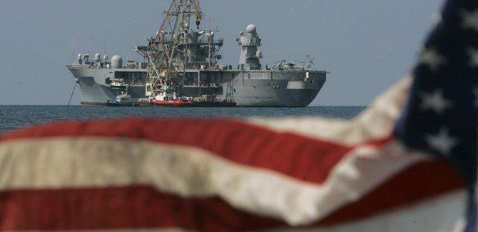 ExxonMobil'in sondajını korumak için 6. Filo Kıbrıs açıklarında