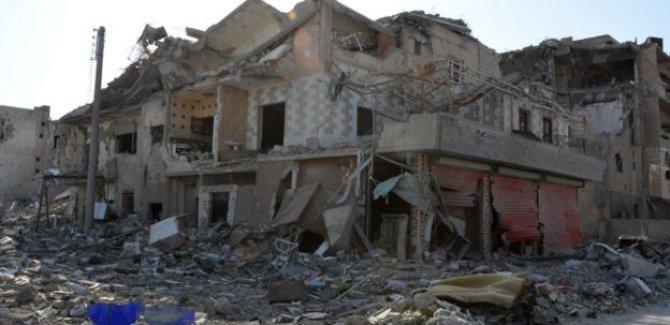 BM: Suriye'deki Rus ve Amerikan hava saldırılarında çok sayıda sivil öldü