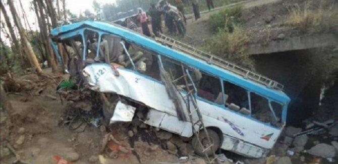 Etiyopya'da trafik kazası: 38 ölü