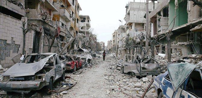 Esed'in Doğu Guta kimyasal saldırısı unutulmadı