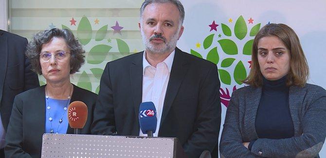 HDP BM'ye Afrin için çağrı yaptı