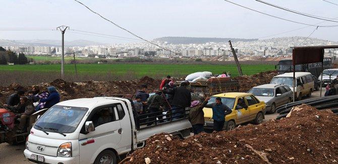 ''Afrin'den 170 Bin Sivil Çıktı''